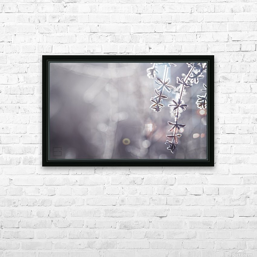 -- HD Sublimation Metal print with Decorating Float Frame (BOX)