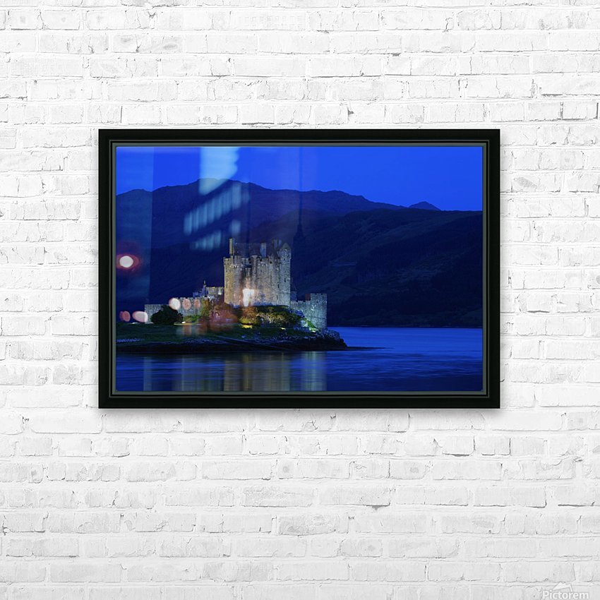 Castle In Scotland HD Sublimation Metal print with Decorating Float Frame (BOX)