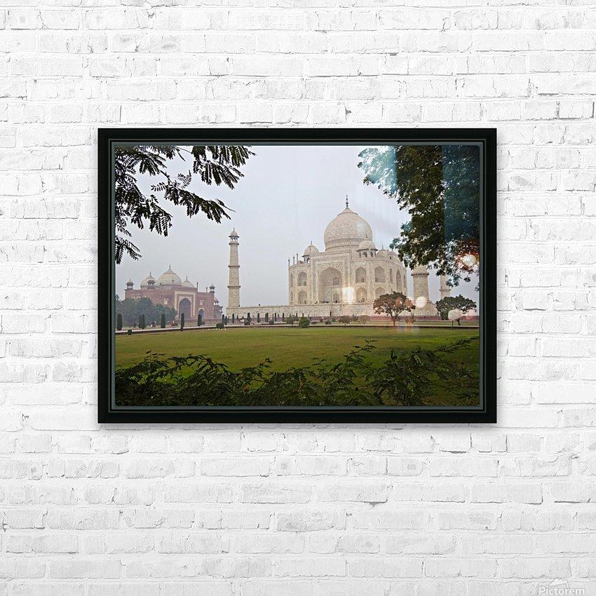 Tajmahal HD Sublimation Metal print with Decorating Float Frame (BOX)