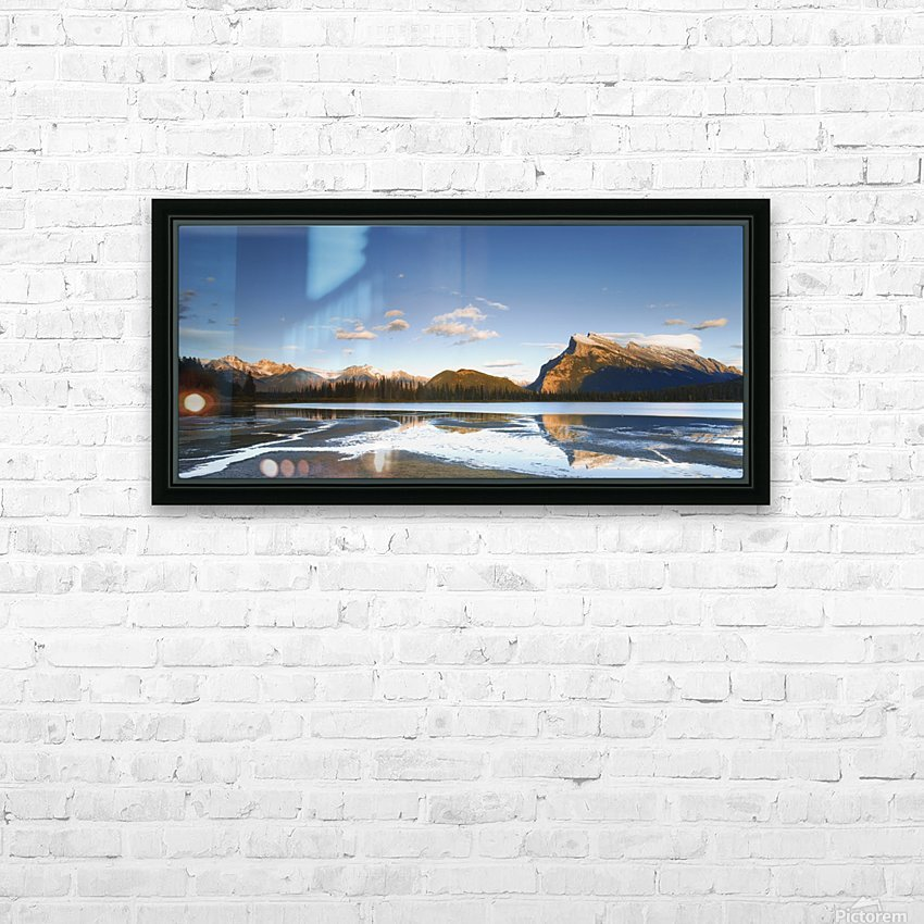 Banff National Park, Alberta, Canada HD Sublimation Metal print with Decorating Float Frame (BOX)