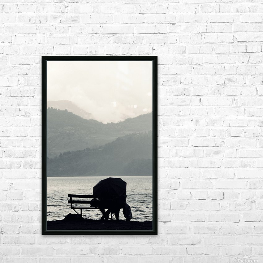 """Love """"ineffable"""" HD Sublimation Metal print with Decorating Float Frame (BOX)"""