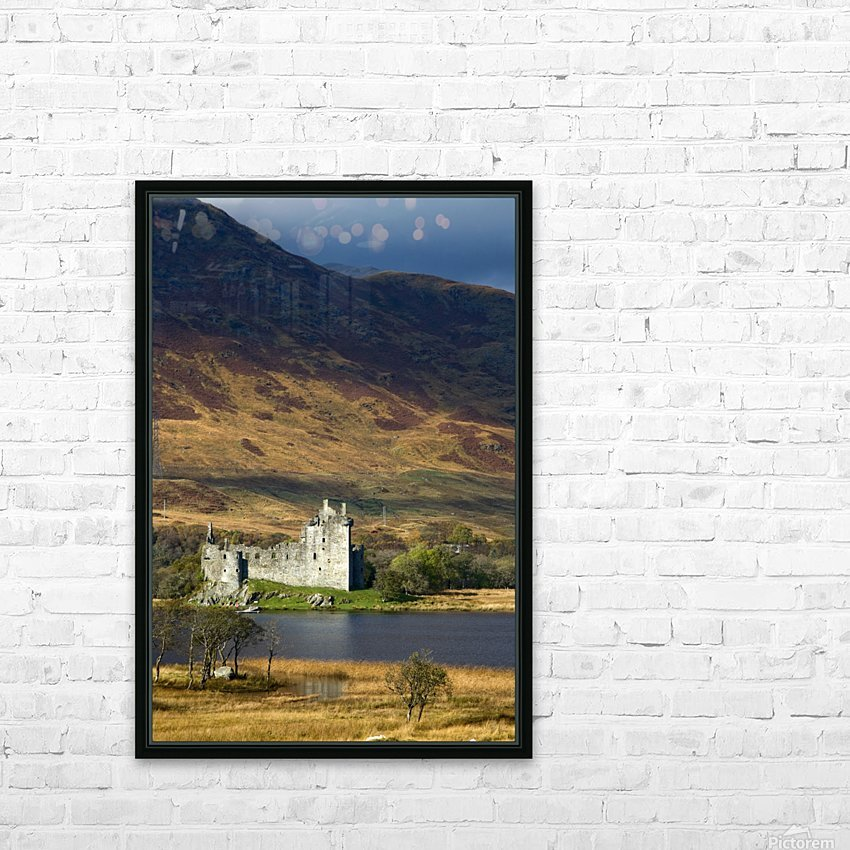 Kilchurn Castle, Scotland HD Sublimation Metal print with Decorating Float Frame (BOX)