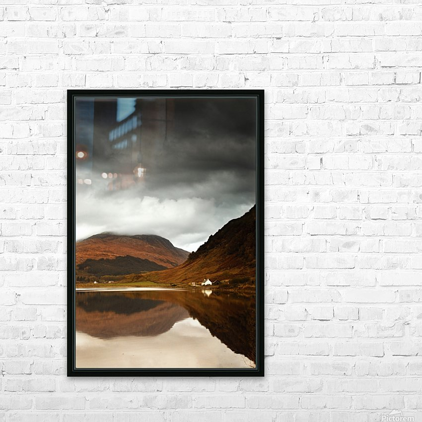 Mountain Lake, Loch Sunart, Scotland HD Sublimation Metal print with Decorating Float Frame (BOX)