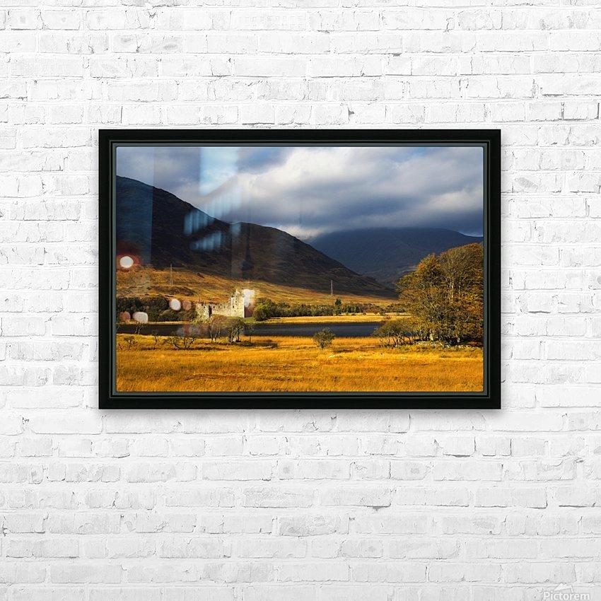 Kilchurn Castle, Loch Awe, Scotland HD Sublimation Metal print with Decorating Float Frame (BOX)