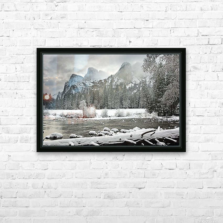 Yosemite National Park, California, Usa HD Sublimation Metal print with Decorating Float Frame (BOX)