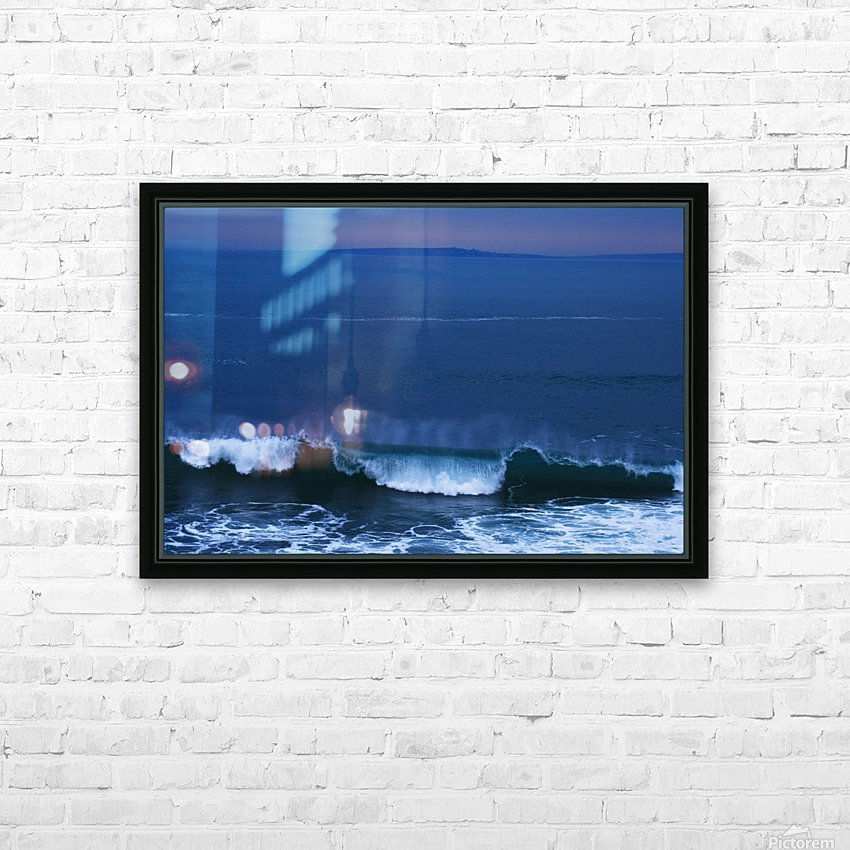 Burren Coast With Inisheer, Ireland HD Sublimation Metal print with Decorating Float Frame (BOX)