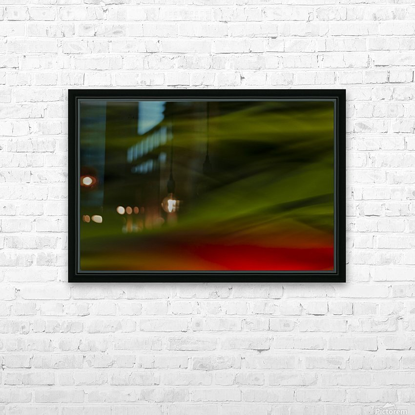 Abstract Close Up Of Tulips HD Sublimation Metal print with Decorating Float Frame (BOX)