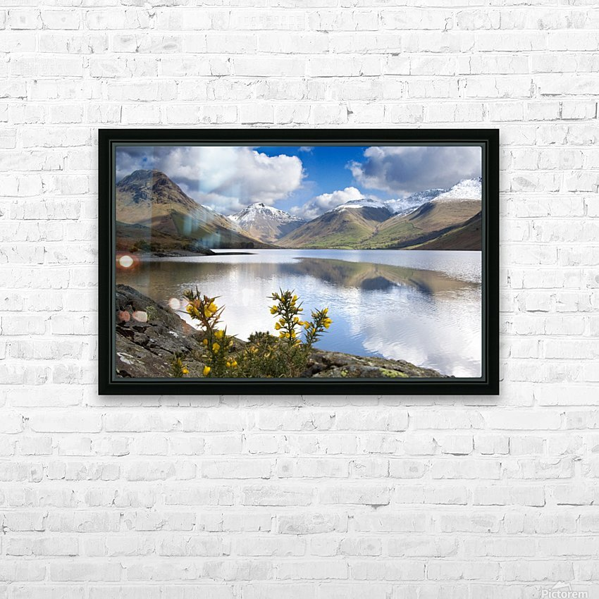 Mountains And Lake, Lake District, Cumbria, England, United Kingdom HD Sublimation Metal print with Decorating Float Frame (BOX)
