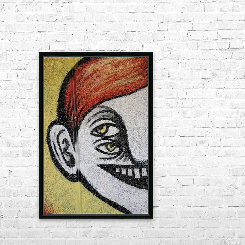 Half face HD Sublimation Metal print with Decorating Float Frame (BOX)