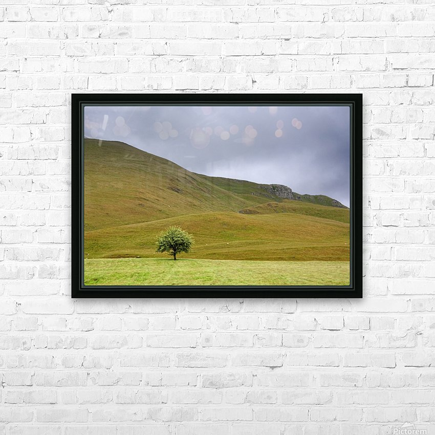 Dark Skies, England HD Sublimation Metal print with Decorating Float Frame (BOX)