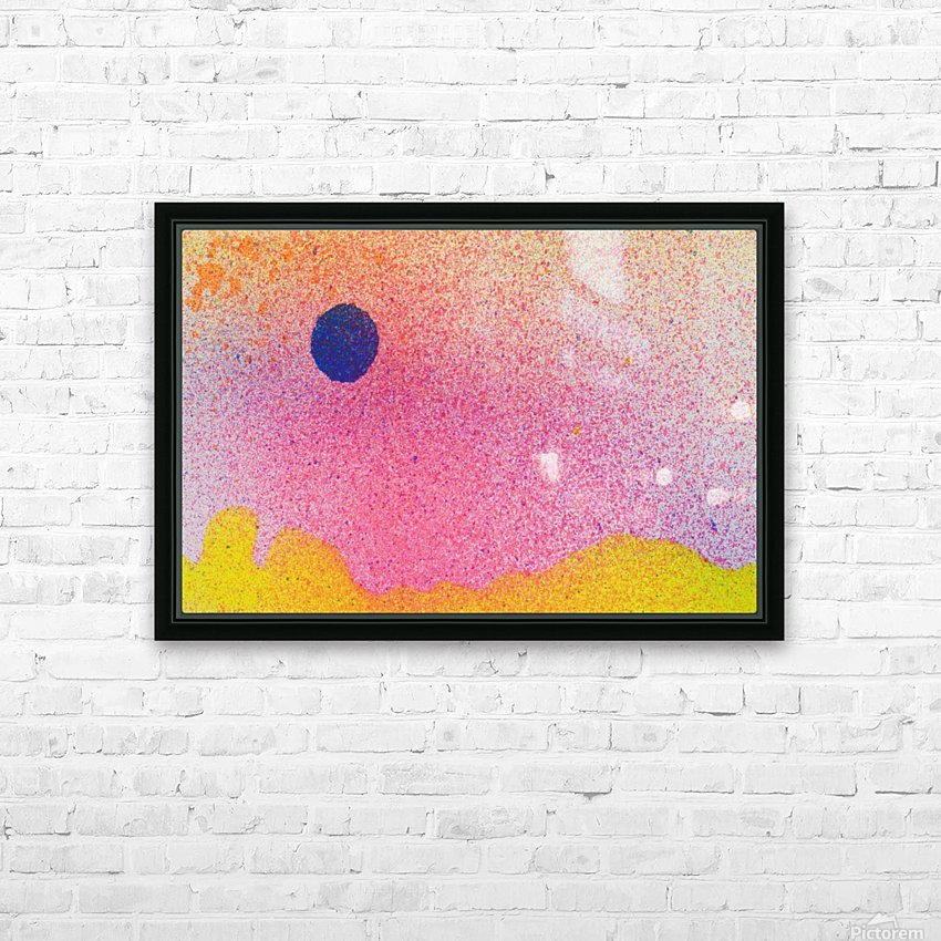 Colourful Abstract Background HD Sublimation Metal print with Decorating Float Frame (BOX)