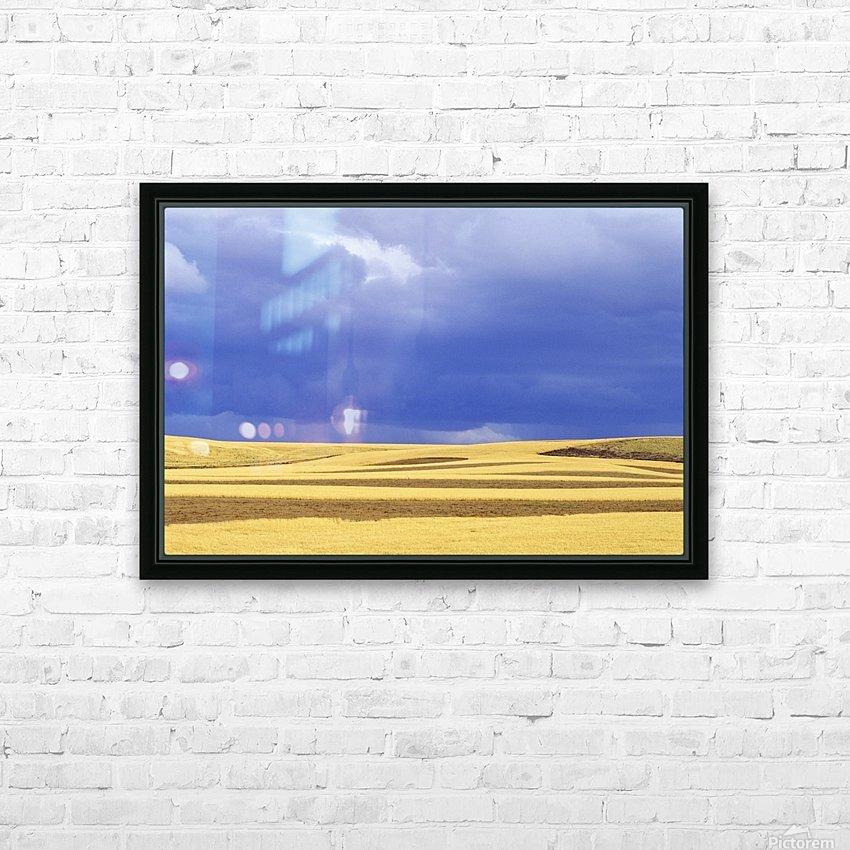 Wheat Fields Near Hermiston, Oregon, Usa HD Sublimation Metal print with Decorating Float Frame (BOX)