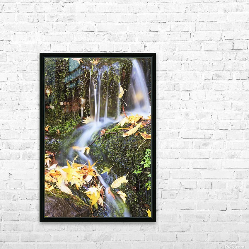 Oregon Cascades, Oregon, Usa HD Sublimation Metal print with Decorating Float Frame (BOX)