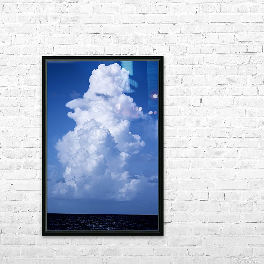 Billowing HD Sublimation Metal print with Decorating Float Frame (BOX)