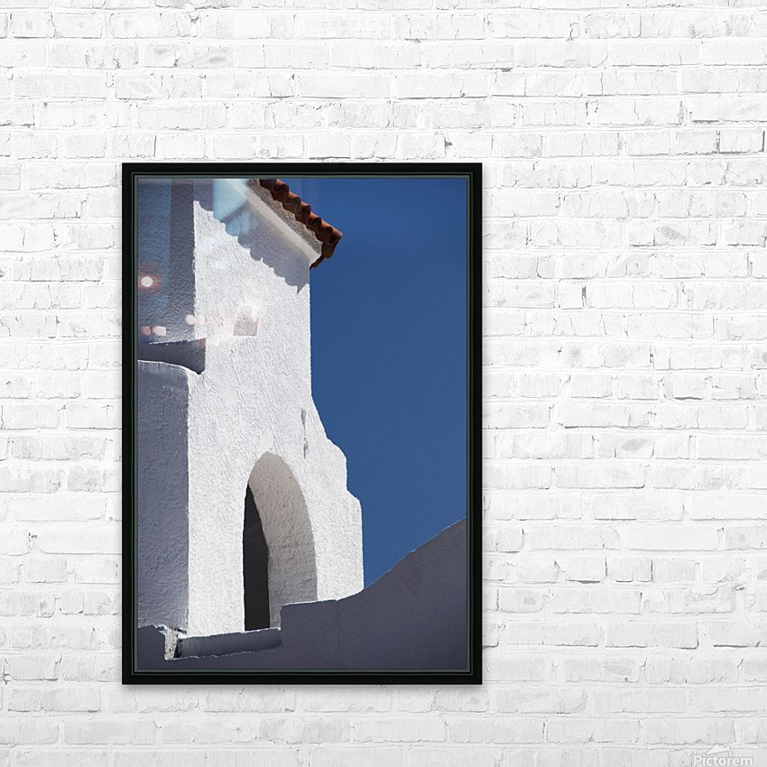 Church Bell Tower; Chacras De Coria, Mendoza, Argentina HD Sublimation Metal print with Decorating Float Frame (BOX)