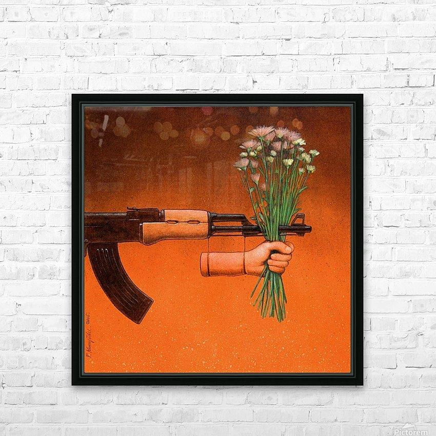 Armistice HD Sublimation Metal print with Decorating Float Frame (BOX)