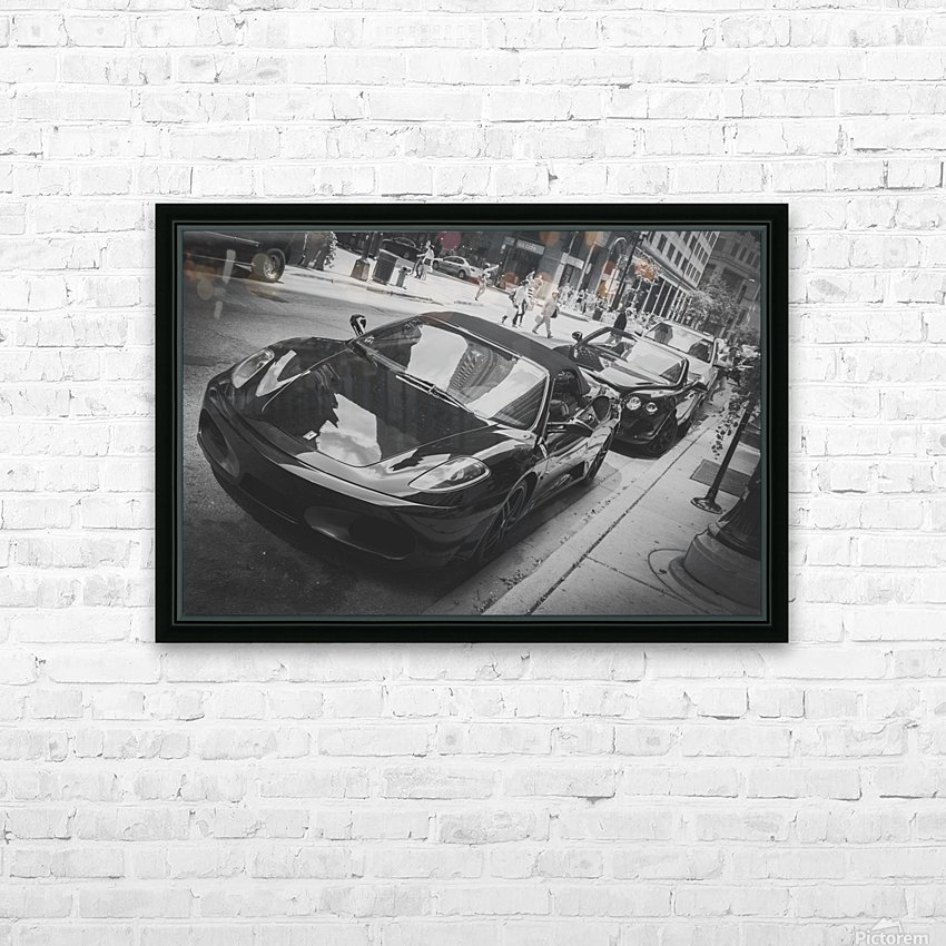 Ferrari HD Sublimation Metal print with Decorating Float Frame (BOX)