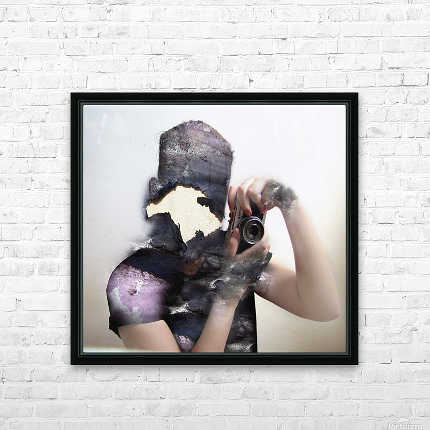 Double Exposure Serie HD Sublimation Metal print with Decorating Float Frame (BOX)