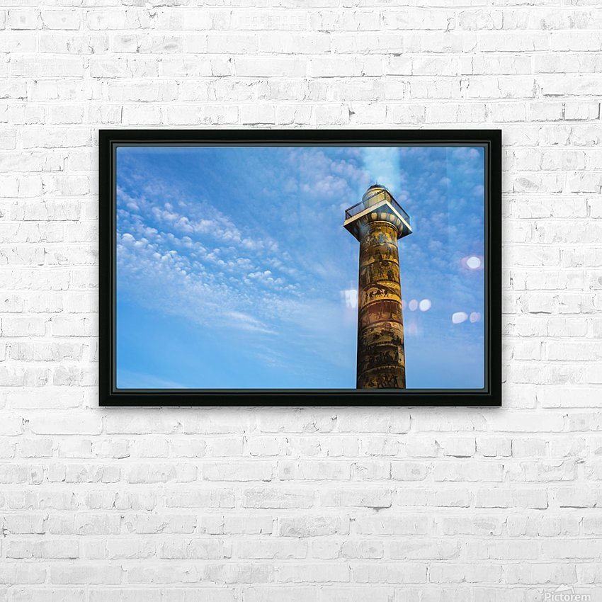 Astoria Column; Astoria, Oregon, United States of America HD Sublimation Metal print with Decorating Float Frame (BOX)