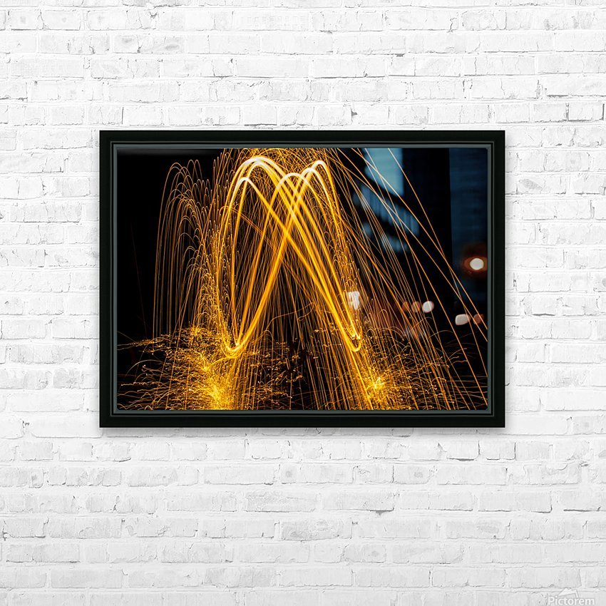 Spin 8 HD Sublimation Metal print with Decorating Float Frame (BOX)