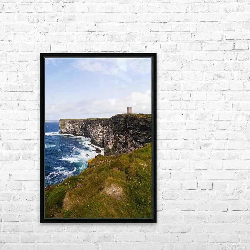 Marwick Head RSPB Nature Reserve, Kitcheners Monument; Orkney, Scotland HD Sublimation Metal print with Decorating Float Frame (BOX)