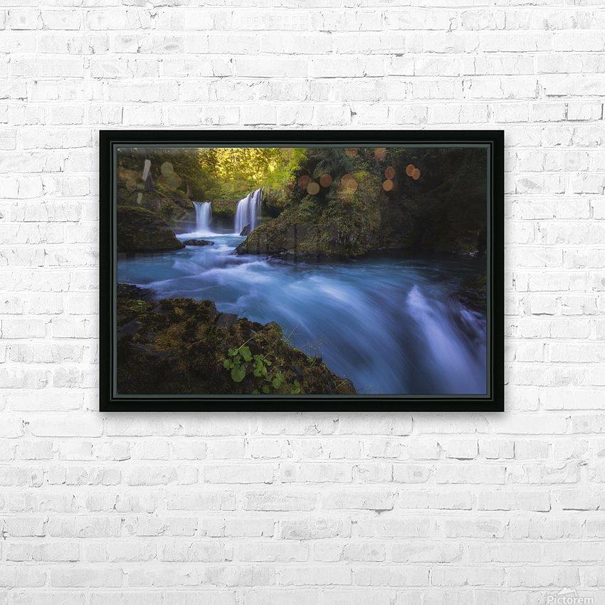 Spirit Falls; Washington, United States of America HD Sublimation Metal print with Decorating Float Frame (BOX)