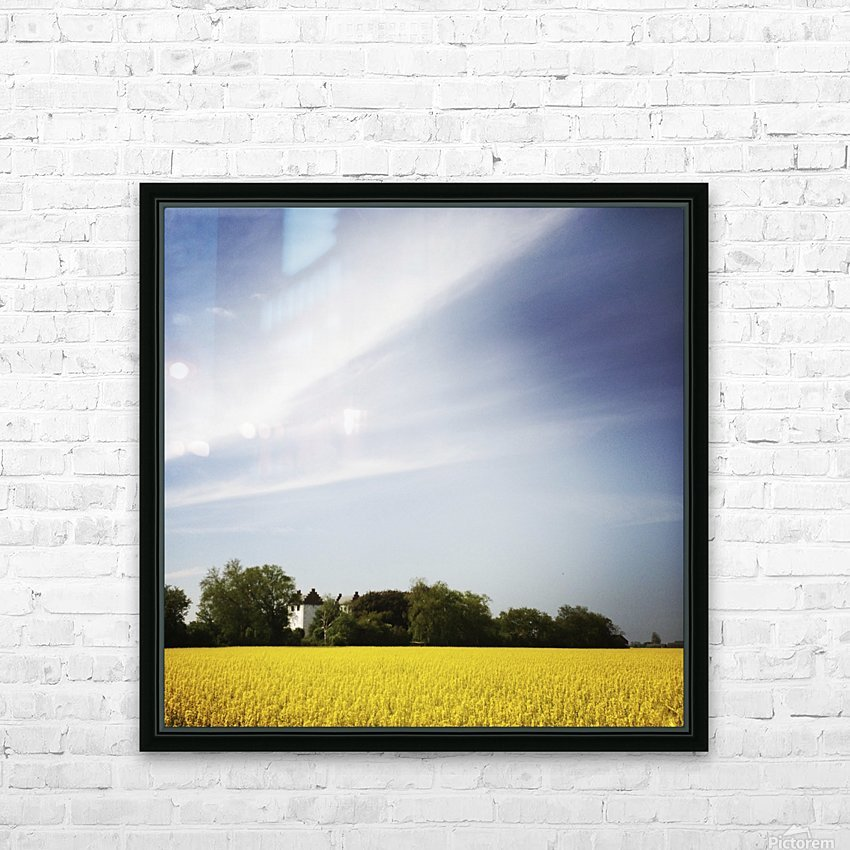 Scania sky HD Sublimation Metal print with Decorating Float Frame (BOX)
