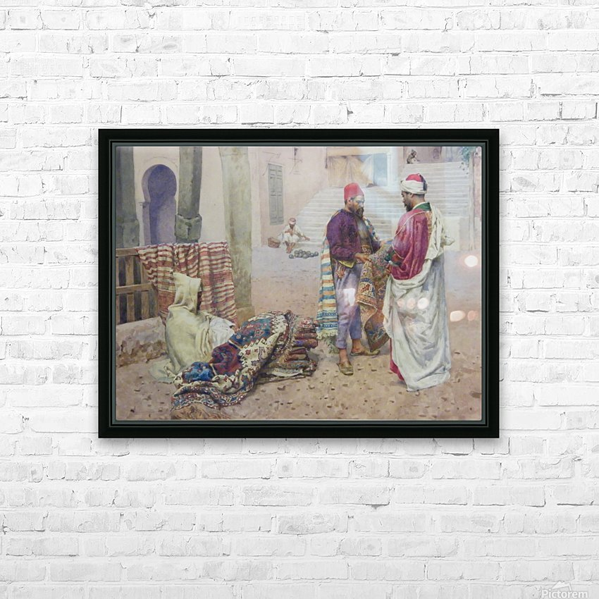 Selling carpets in the market HD Sublimation Metal print with Decorating Float Frame (BOX)