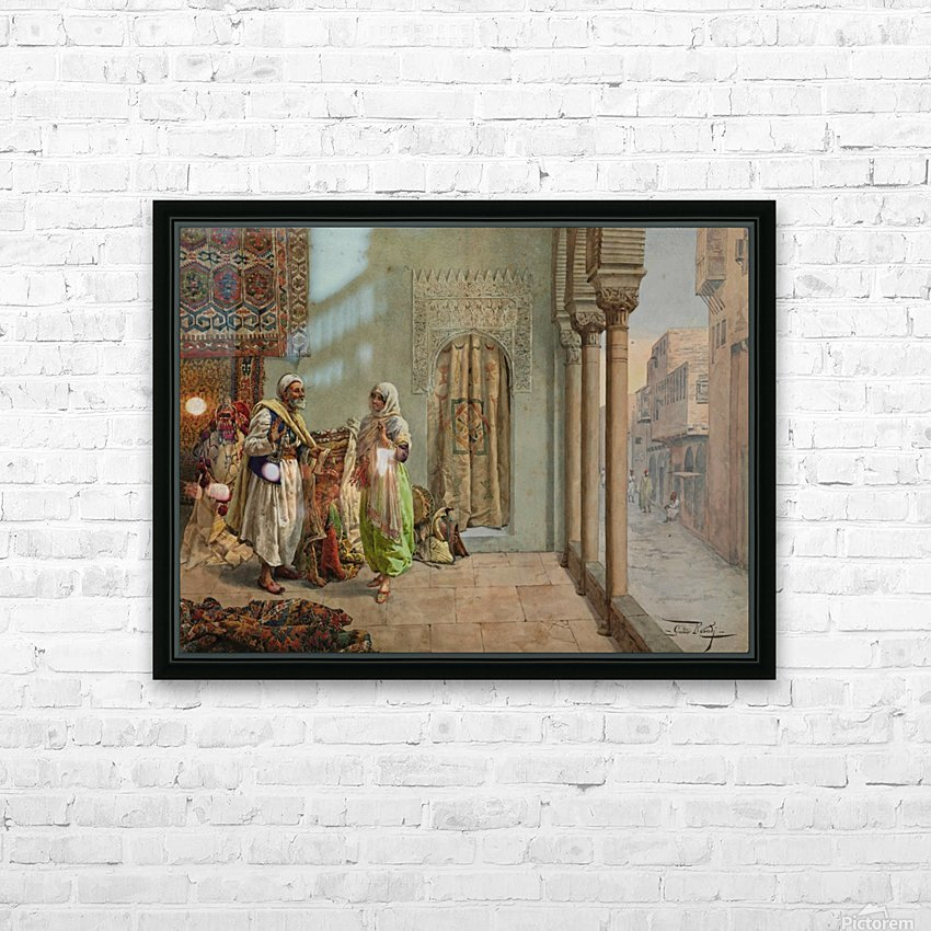 An Oriental Bazaar HD Sublimation Metal print with Decorating Float Frame (BOX)