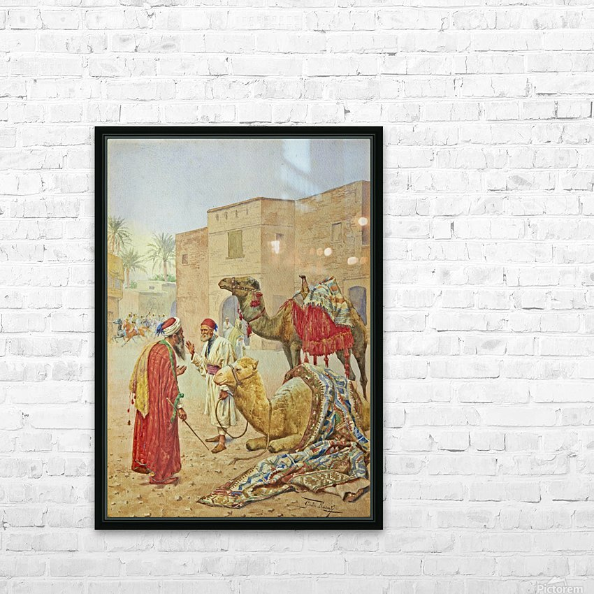 The camel seller HD Sublimation Metal print with Decorating Float Frame (BOX)