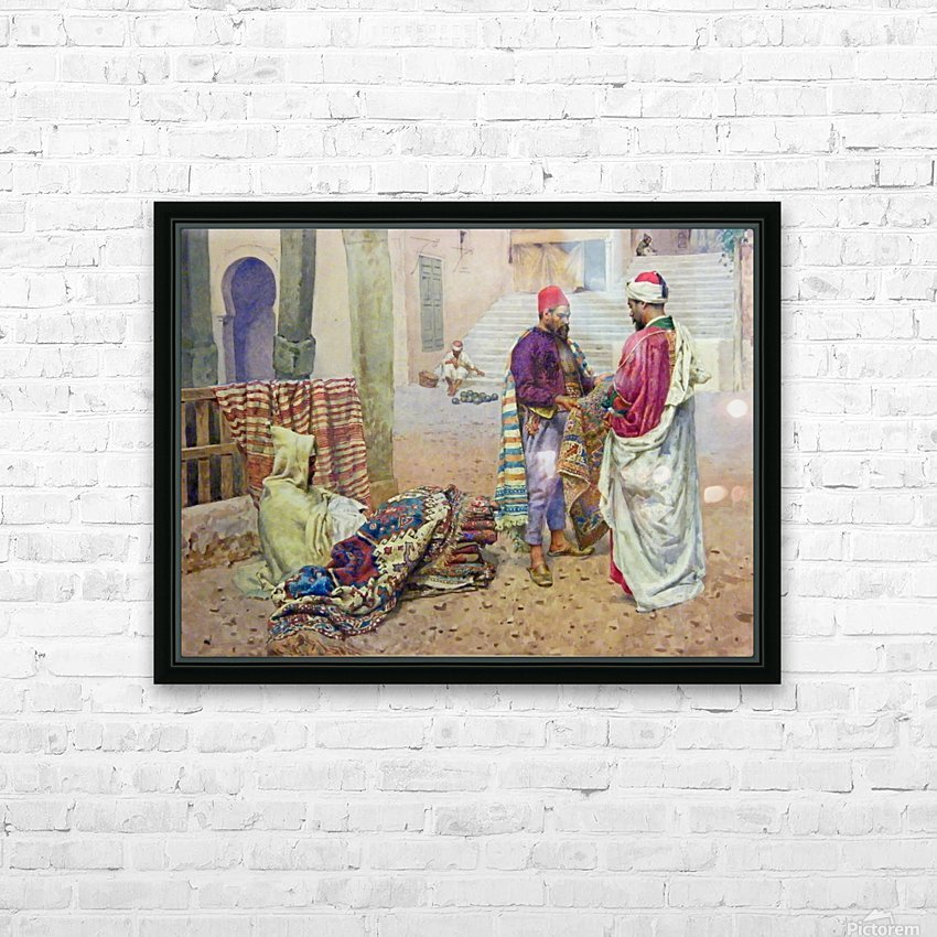 The carpet seller HD Sublimation Metal print with Decorating Float Frame (BOX)