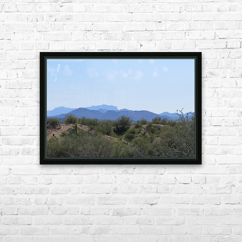 Tonto National Forest 1VP HD Sublimation Metal print with Decorating Float Frame (BOX)