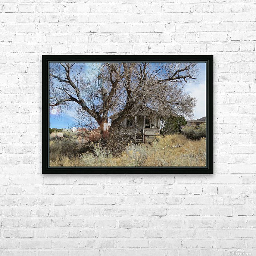 Turquoise Trail - This Old House 1VP HD Sublimation Metal print with Decorating Float Frame (BOX)