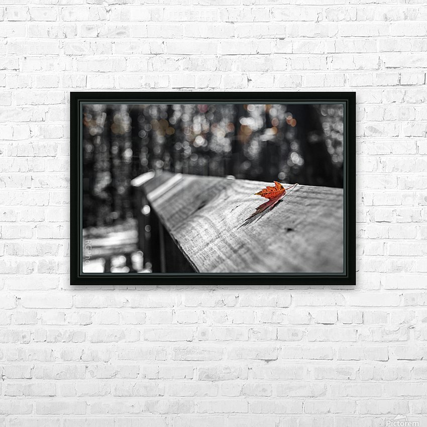Holding On HD Sublimation Metal print with Decorating Float Frame (BOX)