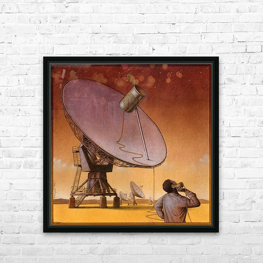 new technology HD Sublimation Metal print with Decorating Float Frame (BOX)