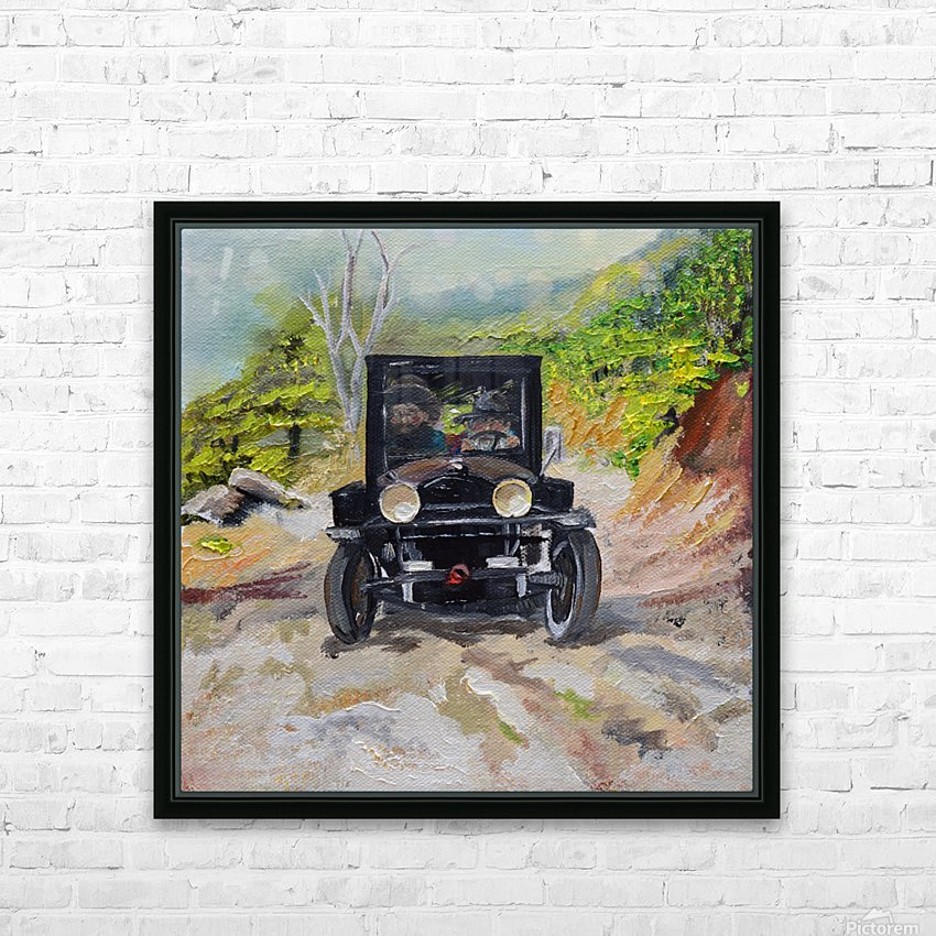 Popcorn Sutton - Looking For Likker HD Sublimation Metal print with Decorating Float Frame (BOX)