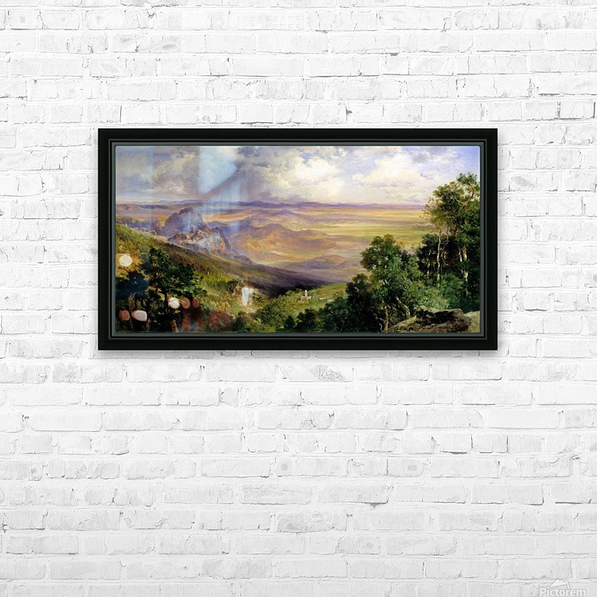 Valley of Cuernavaca HD Sublimation Metal print with Decorating Float Frame (BOX)