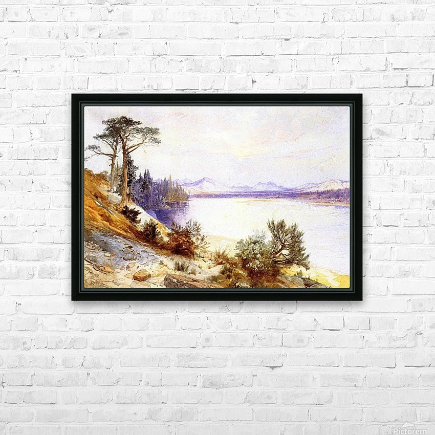 Head of the Yellowstone River HD Sublimation Metal print with Decorating Float Frame (BOX)