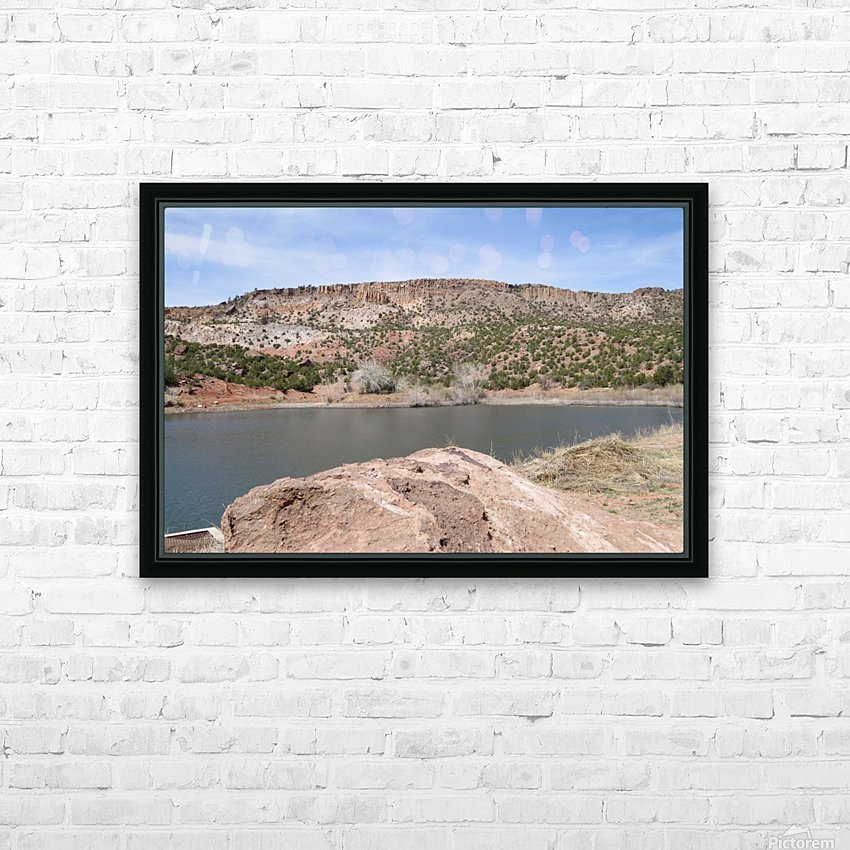 Jemez Mountains VP9 HD Sublimation Metal print with Decorating Float Frame (BOX)