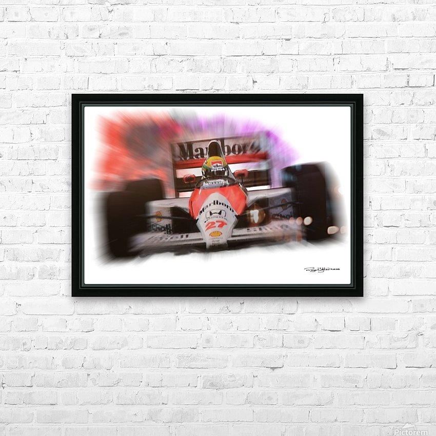 Senna HD Sublimation Metal print with Decorating Float Frame (BOX)