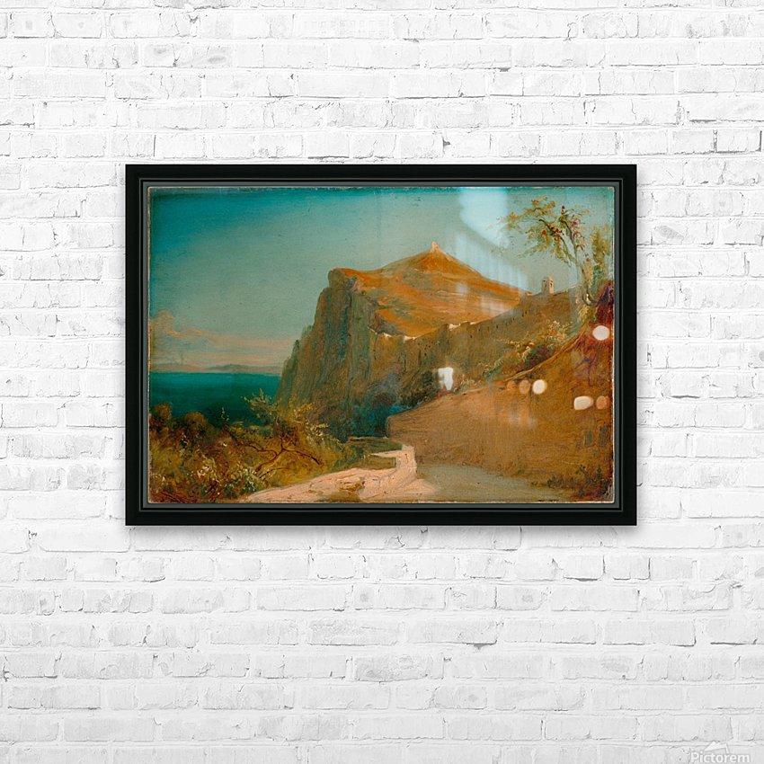 Tiberiusfelsen auf Capri HD sublimation métal imprimé avec décoration flotteur cadre (boîte)