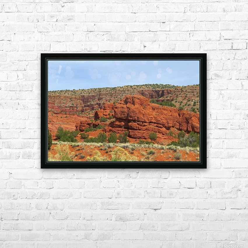 Jemez Mountains VP20 HD Sublimation Metal print with Decorating Float Frame (BOX)