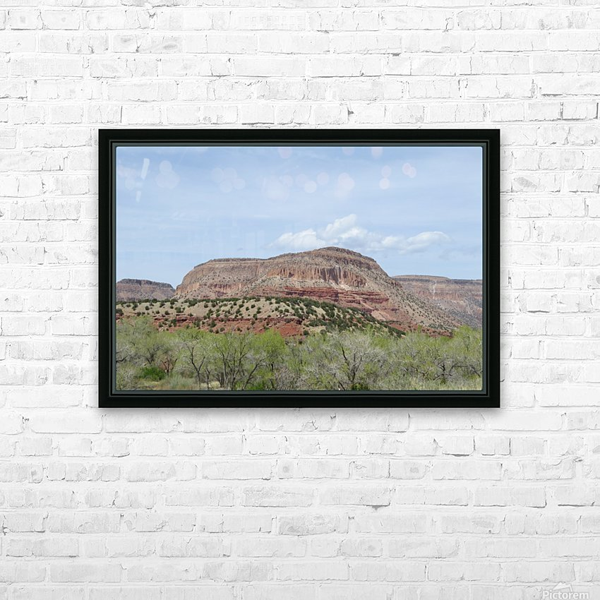 Jemez Mountains VP19 HD Sublimation Metal print with Decorating Float Frame (BOX)