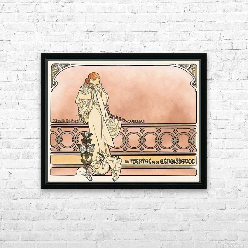 La Dame aux Camelias poster HD Sublimation Metal print with Decorating Float Frame (BOX)