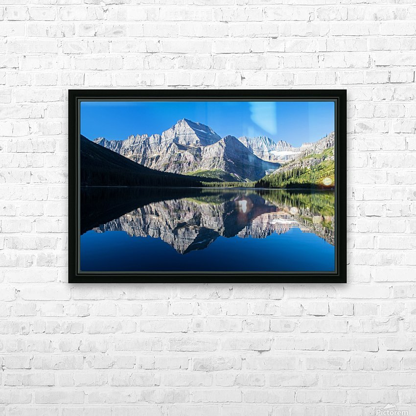 Josephine Lake HD Sublimation Metal print with Decorating Float Frame (BOX)