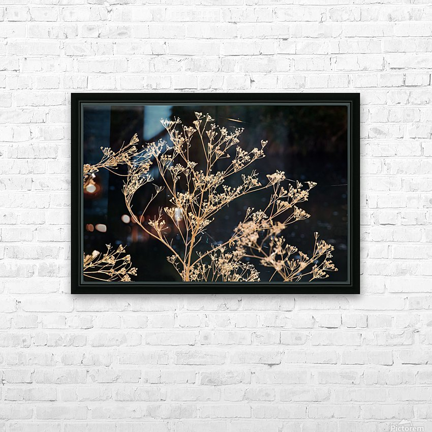 Natures Lace HD Sublimation Metal print with Decorating Float Frame (BOX)