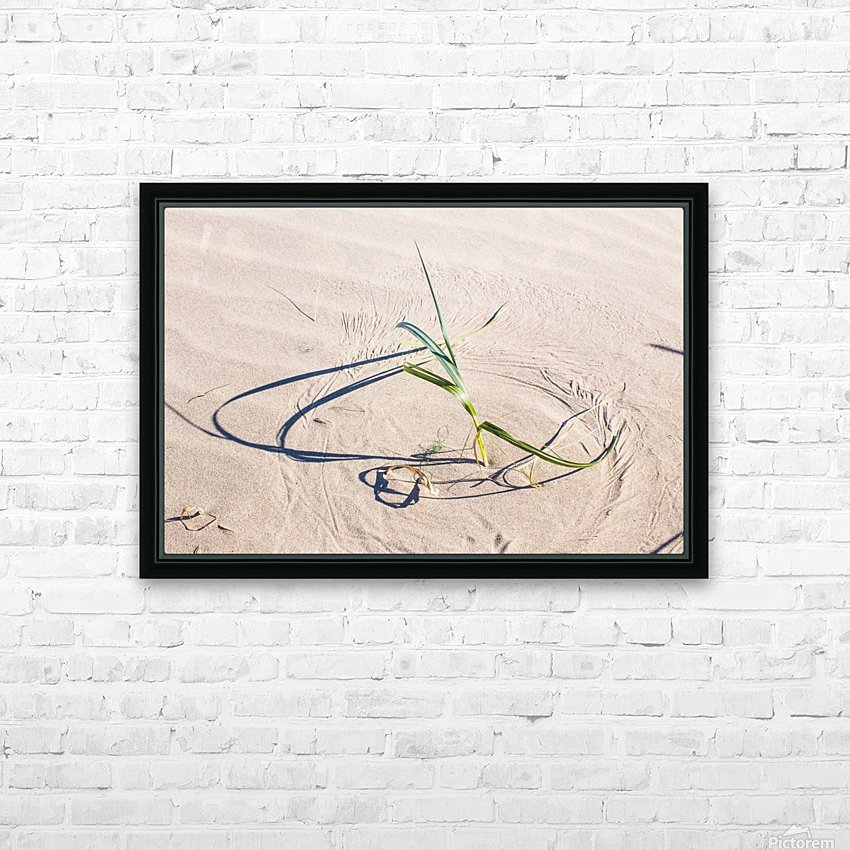 Sculptor of the Sands HD Sublimation Metal print with Decorating Float Frame (BOX)