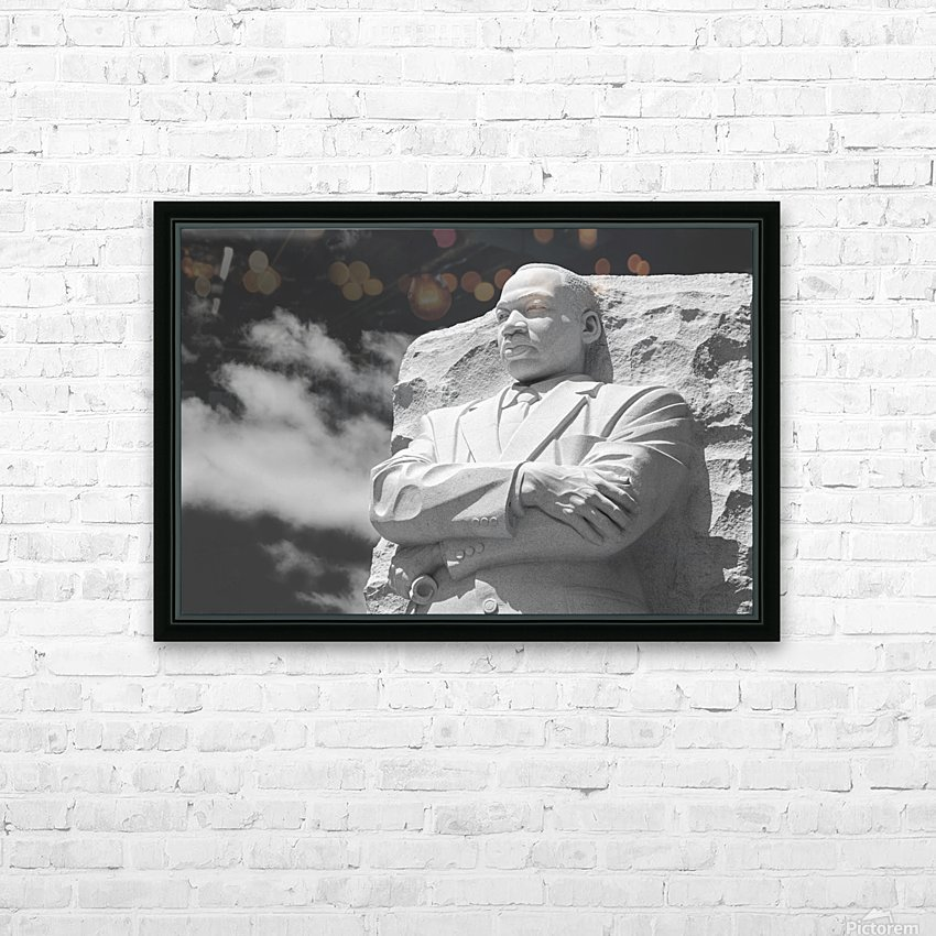 Thank You Dr. King HD Sublimation Metal print with Decorating Float Frame (BOX)