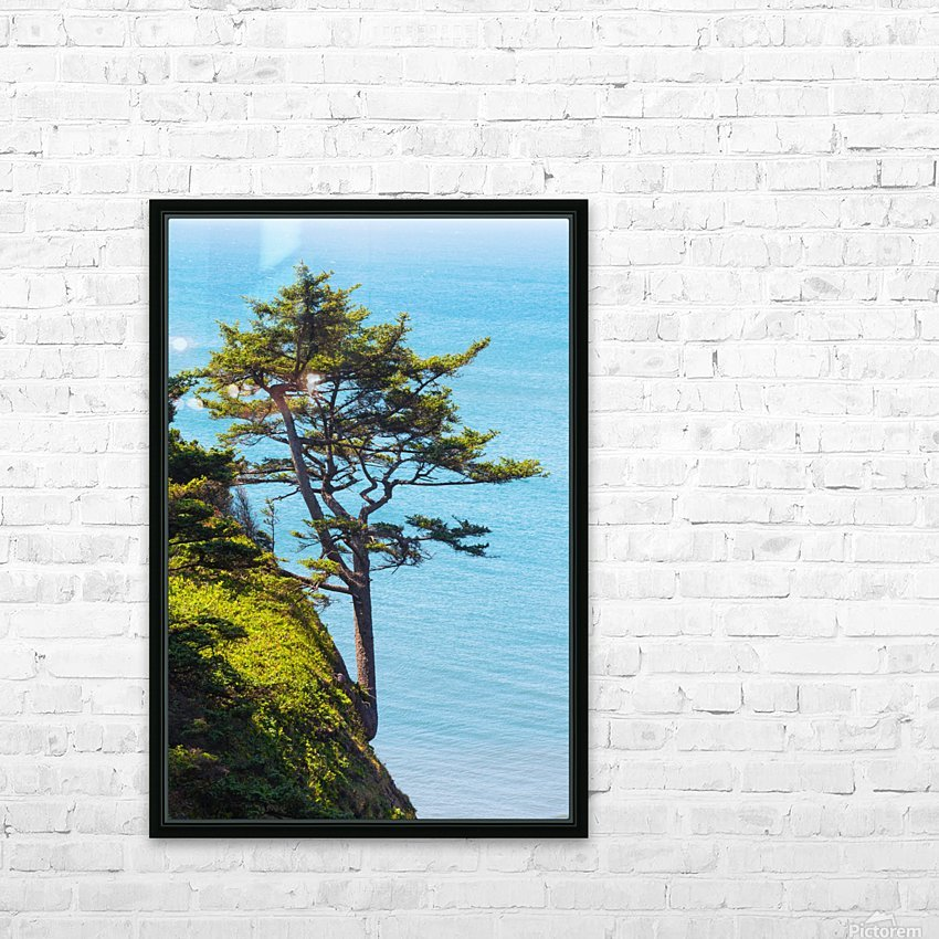 Cliffhanger HD Sublimation Metal print with Decorating Float Frame (BOX)