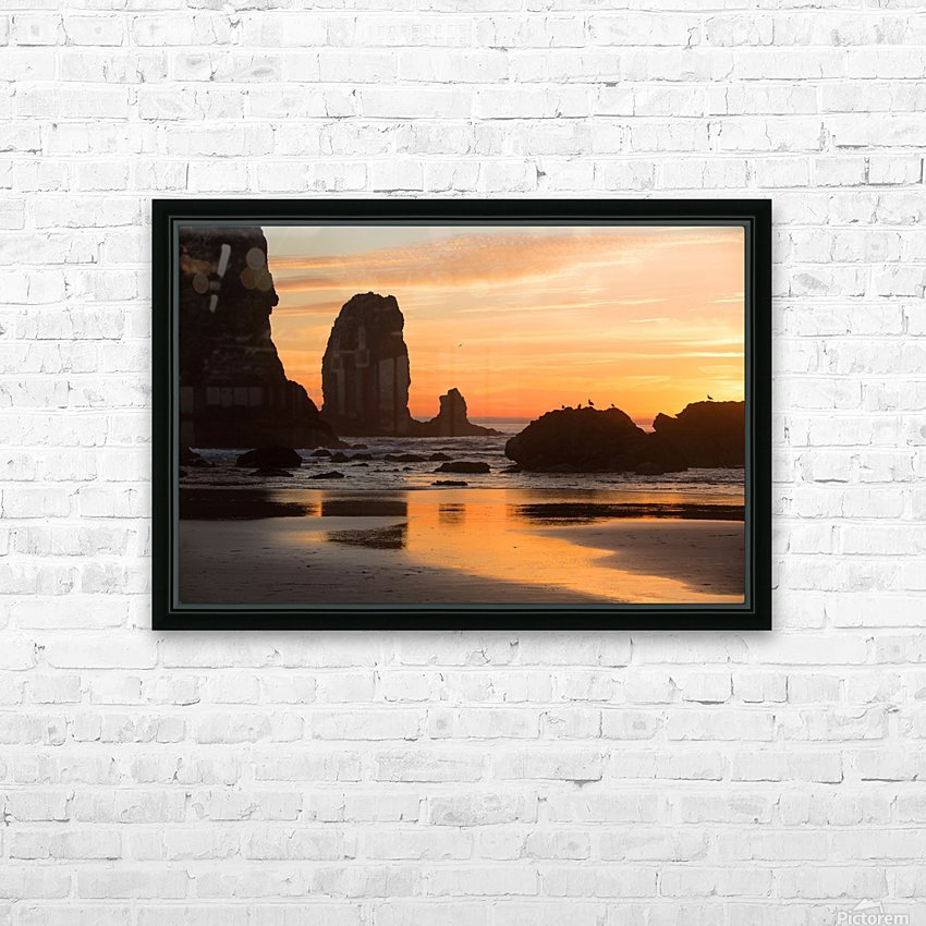 Pacific Afterglow HD Sublimation Metal print with Decorating Float Frame (BOX)